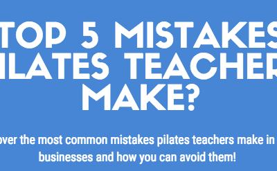 Top 5 Mistakes Pilates Teachers Make